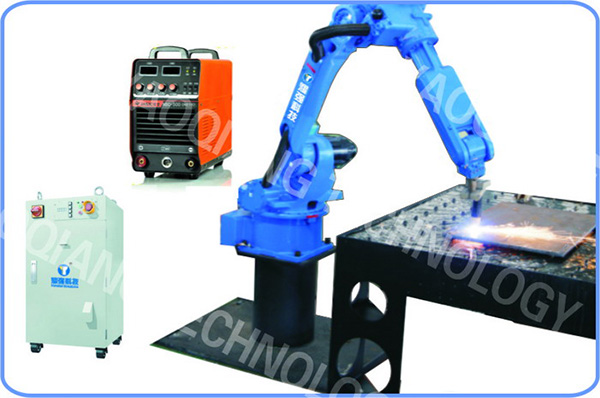 A robot system for flame cuttin